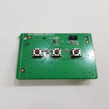 Placa Teclado Tv Semp Toshiba Tcl 32l1600 40-32d291b-kec2LG